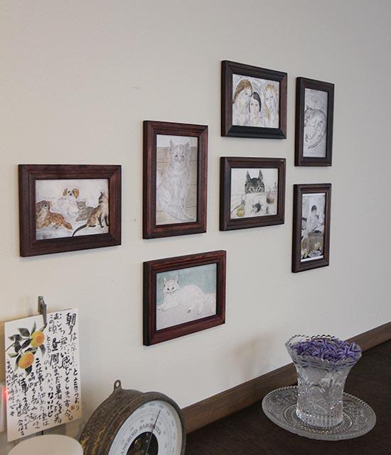 壁にポストカード フォトフレームを貼る方法 1