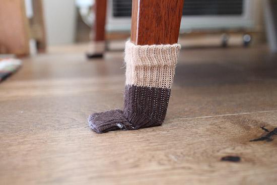 床の傷予防 防止 イス 靴下 口コミ体験談 1