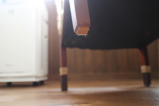 フローリング 傷予防 防止 イス 靴下 口コミ体験談 1