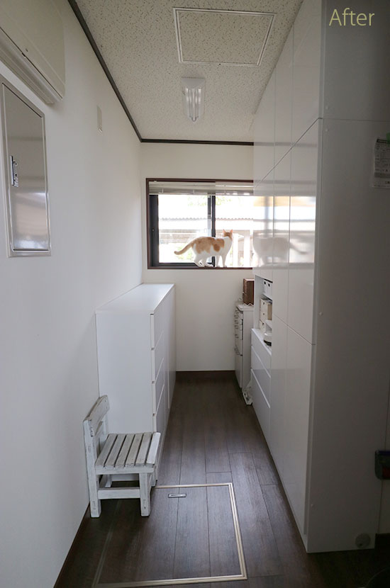 ディノス 3辺オーダー薄型壁面収納家具 アフター 口コミ