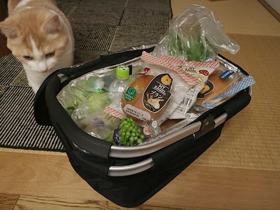 買い物かご袋 折りたたみ式バッグ・保冷素材