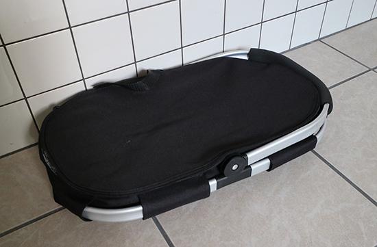 買い物かご袋 シンプルオシャレ 折りたたみ式バッグ・保冷素材 軽い
