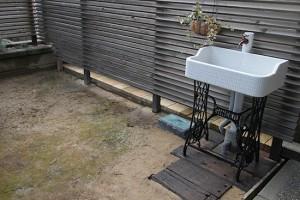 ガーデニング 水栓タイル リフォーム施工事例 画像