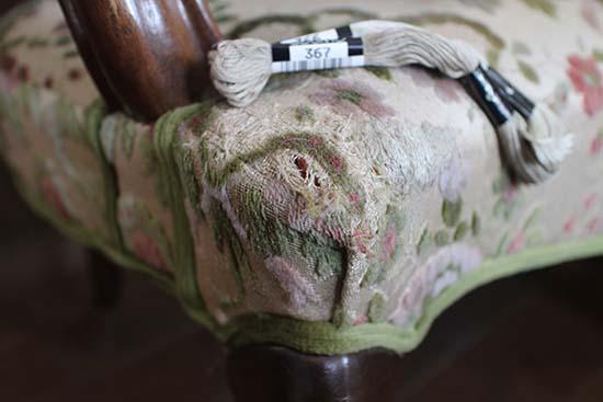 猫 ソファーに爪とぎ 対策 縫い直す 途中